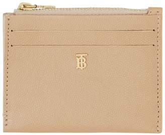 Burberry Grained Leather Card Holder