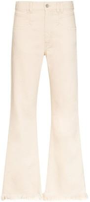 Isabel Marant Elvira frayed jeans