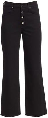 Rag & Bone Justine High-Rise Ankle Wide-Leg Jeans