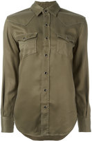 Saint Laurent military shirt - women - Lyocell - XS