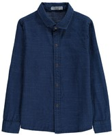 Imps & Elfs Polka Dot Soft Denim Shirt
