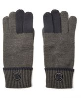 Pretty Green Contrast Tipped Gloves