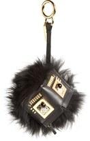 Fendi Genuine Fox Fur Bug Bag Charm