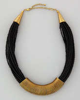 Nakamol Beaded Coil-Collar Necklace
