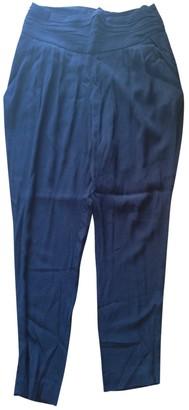 Comptoir des Cotonniers Black Trousers for Women