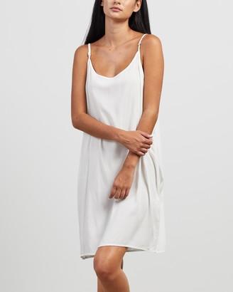 Morrison - Women's White Slip Dresses - Oden Slip Dress at The Iconic