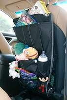 Spaco Multipurpose Backseat Organizer + Kids/Baby Travel Storage + Kick Mat Protectors+iPad and Tablet Holder