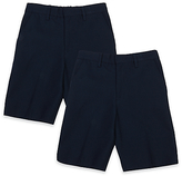 Marks and Spencer 2 Pack Boys' Slim Leg Shorts