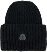 Moncler cable knit beanie - men - Virgin Wool - One Size
