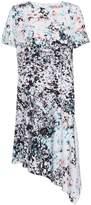 Great Plains Miquita Marble Asymmetric Shift Dress