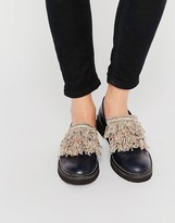 Miista Fringe Front Flat Shoes