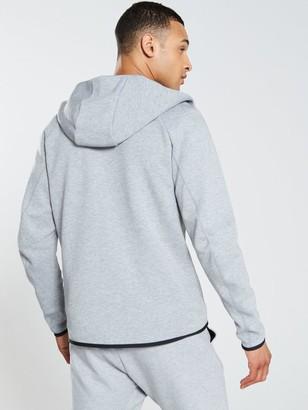Nike Sportswear Tech Fleece Full Zip Hoodie- Dark Grey