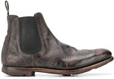 Church's distressed effect chelsea boots