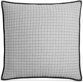 Hotel Collection Linen Plaid Quilted European Sham, Created for Macy's