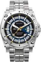 Bulova Men's 96B131 Precisionist Champlain Dial Steel Bracelet Watch