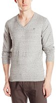 Diesel Men's K-Benti Solid V-Neck Pullover Sweater