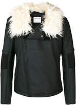 Helmut Lang zipped biker jacket
