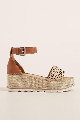 Dolce Vita Larita Platform Espadrille Sandals By in Assorted Size 10
