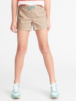 Old Navy Cuffed Twill Pull-On Shorts for Girls