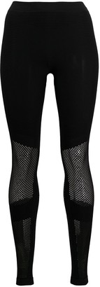 Unravel Project mesh panel leggings