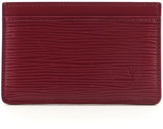 Louis Vuitton Card Holder Epi Leather