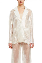 Callipygian Sequin Blazer