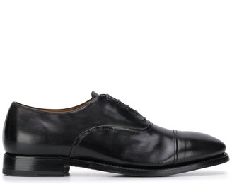 Silvano Sassetti textured lace-up Oxford shoes