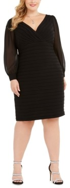 Adrianna Papell Size Bandage Dress