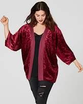 Edge To Edge Crushed Velour Kimono