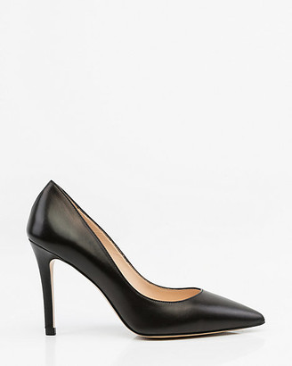 Le Château Italian-Made Leather Pointy Toe Pump