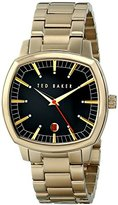 "Ted Baker Men's TE3062 ""Classic Sport"" Gold-Tone Stainless Steel Bracelet Watch"