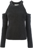 Rag & Bone cold shoulder jumper - women - Cotton - L