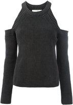 Rag & Bone cold shoulder jumper - women - Cotton - XS