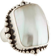 Stephen Dweck Mother of Pearl Cocktail Ring
