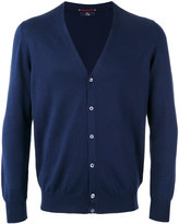Fay knitted cardigan - men - Cotton - 50
