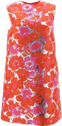 MSGM Floral Jacquard Shift Dress