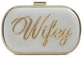 Aldo Nikas Oval Convertible Wedding Clutch
