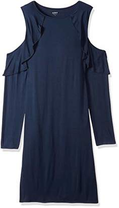 Three Dots Women's Refined Jersey Tight Mid Dress