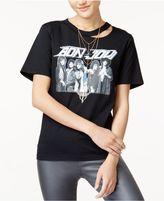 Freeze 24-7 7 7 Juniors' Bon Jovi Ripped Graphic T-Shirt