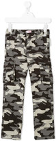 Il Gufo camouflage cargo trousers
