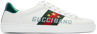 Gucci White Band New Ace Sneakers