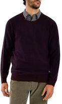 Haggar Heritage Crew Neck Honeycomb Sweater