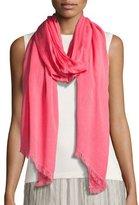 Nic+Zoe Sheer Spring Scarf, Pink