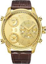 JBW Men's G4 0.16 ctw Diamond 18k gold-plated stainless-steel Watch J6248LR