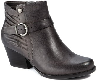 Bare Traps Russell Stacked Heel Bootie