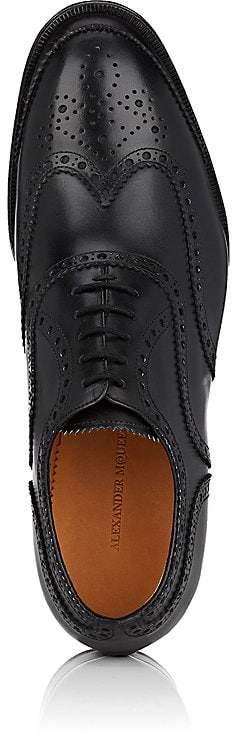 Alexander McQueen Men's Leather Wingtip Balmorals