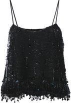 Ashish sequin dangles camisole - women - Silk/Sequin - XS
