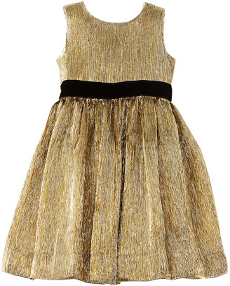 Oscar de la Renta Dyed Gaberdine Ruffle Dress
