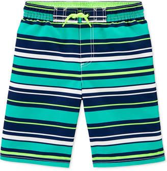 Carter's Carter Little & Big Boys Striped Swim Shorts