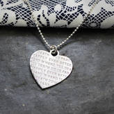 Anna Lou of London 'Happily Ever After' Heart Necklace